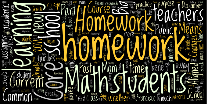 the great homework debate The homework debate: what parents  does homework improve achievement  and what else is  o homework provides a great opportunity for you to tell.