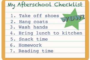 Free Printables: Family Checklists Make Going Back-To-School a Breeze