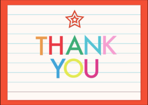 Teacher Thank You Card 1
