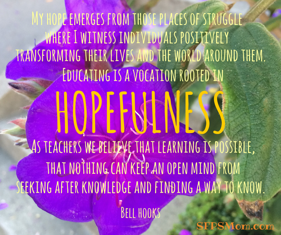 Bell Hooks Quote Quot Educating Is A Vocation Rooted In
