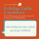 Free Printables: Holiday Table Questions