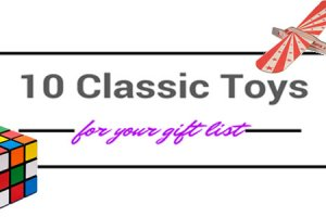 10 Classic Toys for Your Holiday Gift List