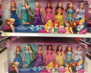 What kind of message does it send that only light-skinned Disney princesses were included in this package? How do you think dark-skinned girls feel that their skin color is not represented as an icon of beauty?