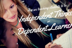 Intellectual Apartheid: Dependent vs. Independent Learners