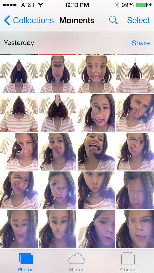 Selfie-Photo-Stream