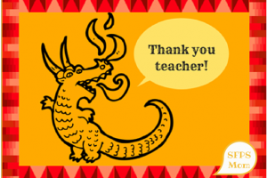 MORE Teacher Thank-You Card Printables!