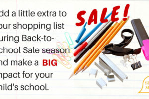 Make a Big Difference During Back-to-School Sale Season