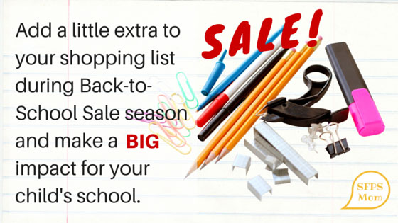 Small purchases by parents can mean BIG savings for schools.