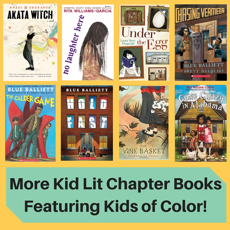 More Kid Lit Chapter Books Featuring Kids