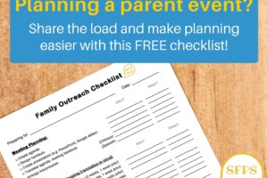 Printable: Plan Better Meetings with this Family Outreach Checklist