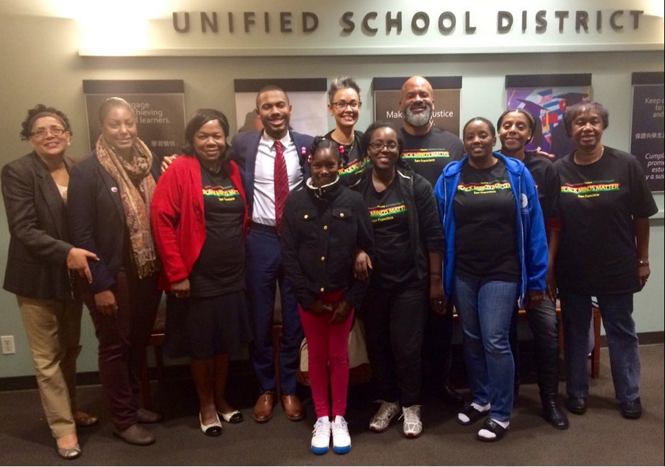 Black Families Voice Support for the SFUSD Math Sequence!