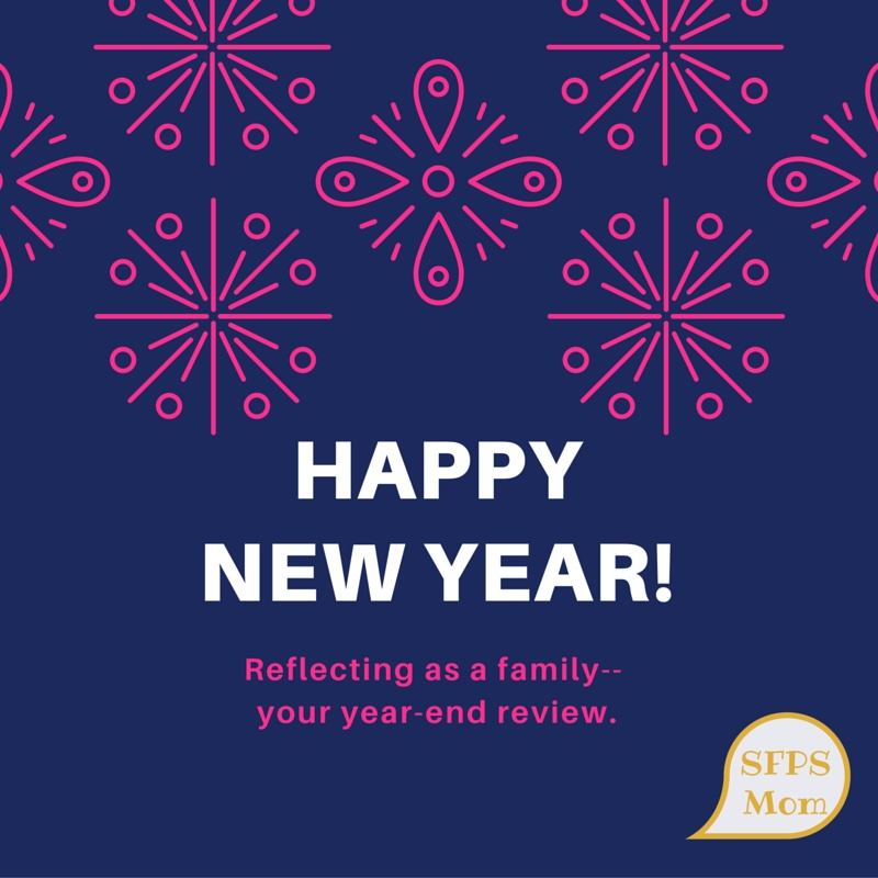 Reflecting on the New Year as a Family