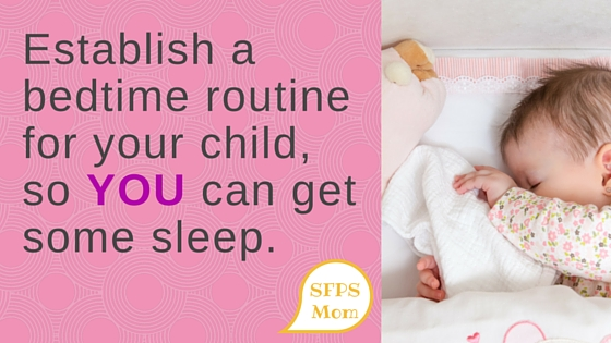 Establishing a Bedtime Routine
