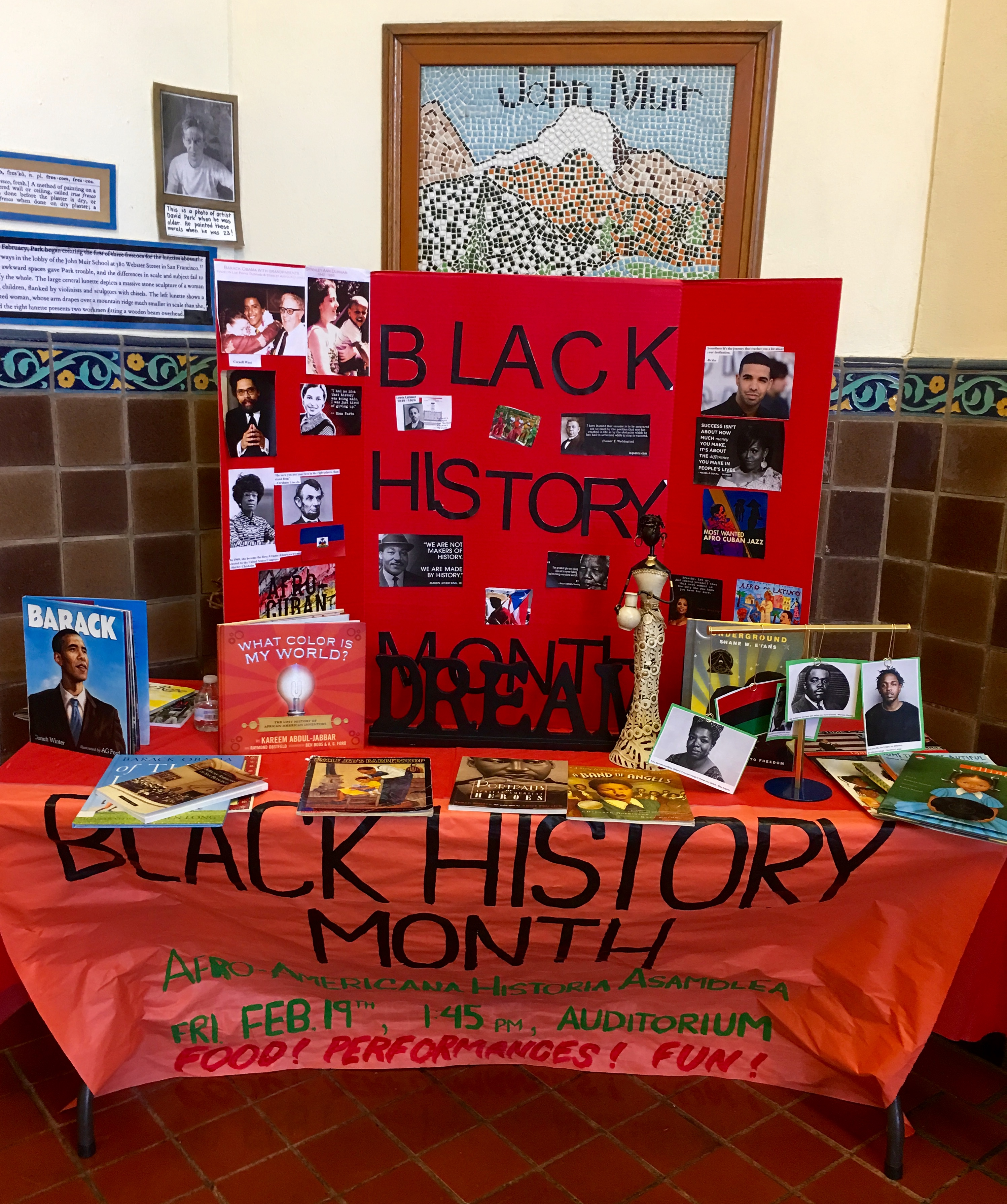 BHM Series #16: John Muir ES Shares its Black History PRIDE!