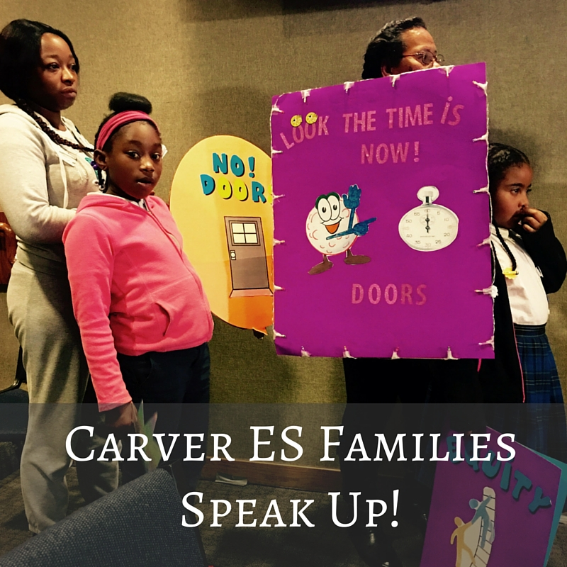 Carver is just another reminder: #BlackFamiliesRock!