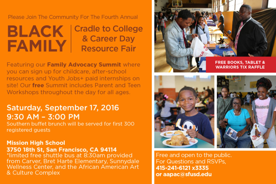 #BlackFamiliesRock – Fall 2016, in SFUSD!