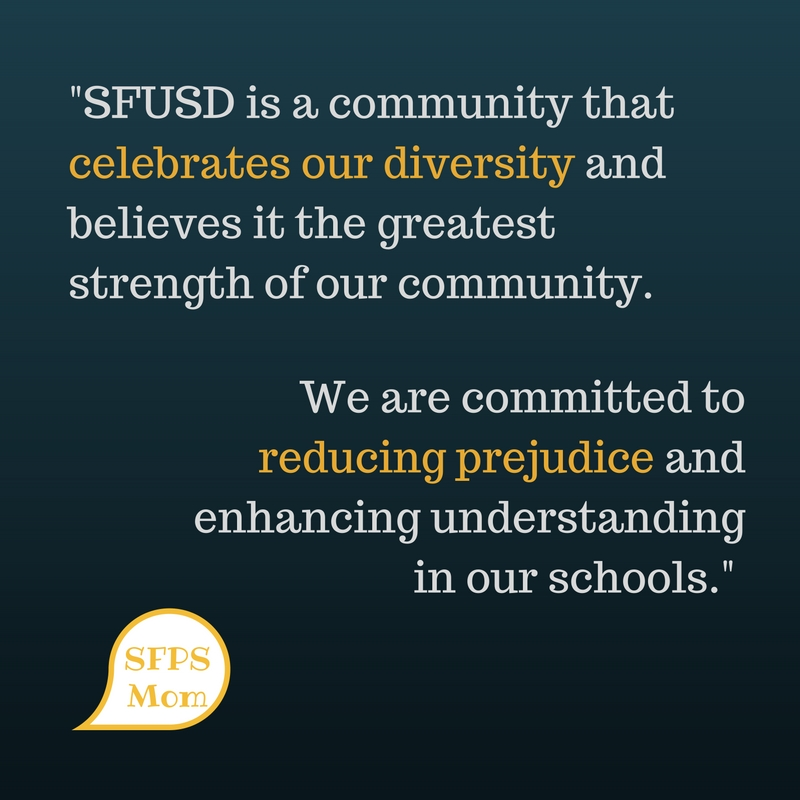 SFUSD Responds to Hate and Intolerance in Schools