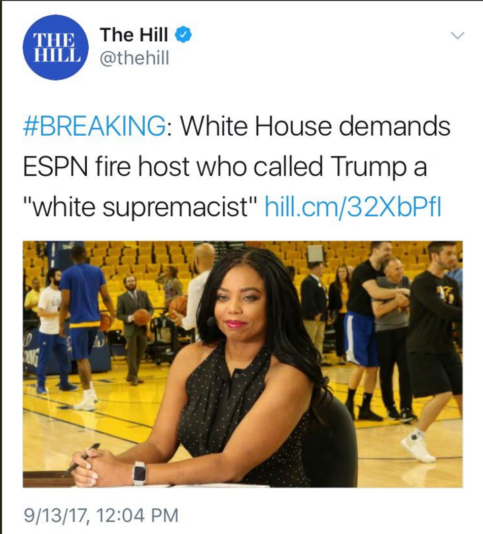 Reflections on Jemele Hill or When Black Women Speak Truth