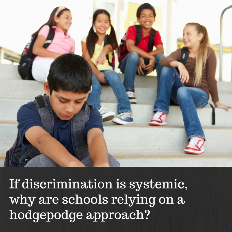 how to avoid discrimination in school