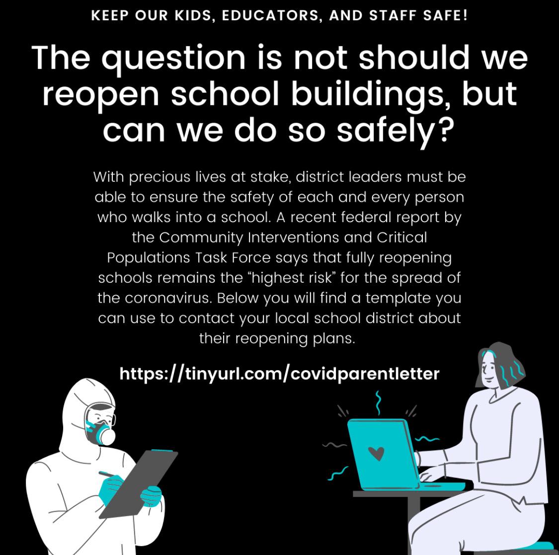 Parent Letter Template—We Demand Safe Schools!