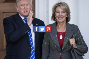 Trump/DeVos may have lost the election, but the battle for public education has just begun.